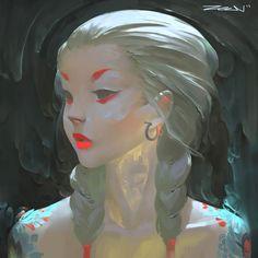 ArtStation - Portrait Practice, Zeen Chin