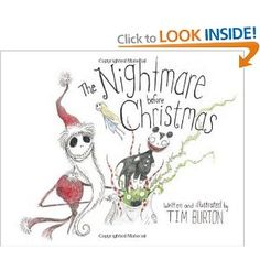 Nightmare Before Christmas, The: Amazon.co.uk: Tim Burton: Books