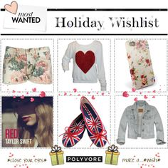 """""""My Polyvore Holiday Wishlist"""" by mao94 ❤ liked on Polyvore"""