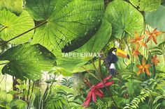 Kaufen Sie das Wandbild Jungle von XXLwallpaper hier günstig online. Fototapeten auf Vliesträger im TapetenMax Shop bestellen.