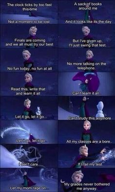 my grades never bothered me anyway!