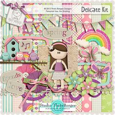 Delicate mini kit from Thaty Borges Design Leaf Template, Flower Template, Owl Templates, Crown Template, Applique Templates, Paper Butterflies, Butterfly Cards, Felt Patterns, Applique Patterns