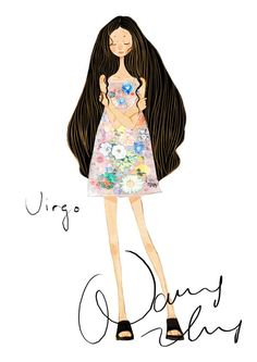 nancy zhang // virgo. #virgo #astrology #zodiac