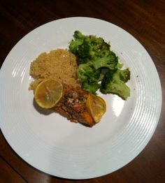 February 12: Citrus Salmon with Broccoli