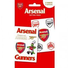 Arsenal F.C. Tattoo Pack