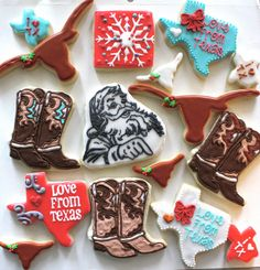 Texan Christmas Cookies, by @Hayley Callaway