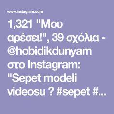 """1,321 """"Μου αρέσει!"""", 39 σχόλια - @hobidikdunyam στο Instagram: """"Sepet modeli videosu 📹 #sepet #örgü #hobi #örgüsepet #örgüpaspas #örgüpuf #orgupuset #örgümodelleri…"""""""