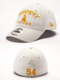 54th Grammy Fitted Hat - Stone