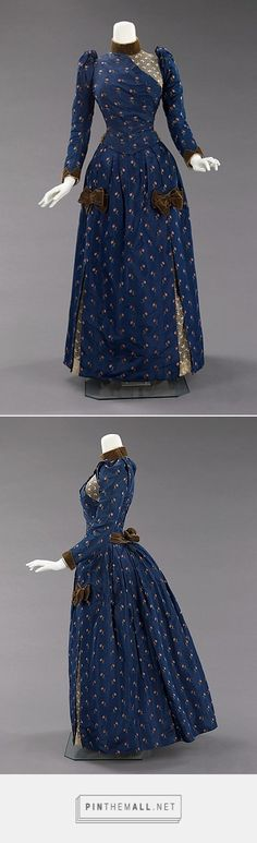 Afternoon dress ca. 1888 American | The Metropolitan Museum of Art