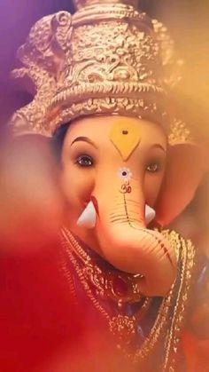 Photos Of Ganesha, Ganesh Ji Images, Ganesha Pictures, Ganesh Chaturthi Status, Happy Ganesh Chaturthi Images, Iphone Wallpaper Blur, Crazy Wallpaper, Ganpati Songs, Happy Wedding Anniversary Cards