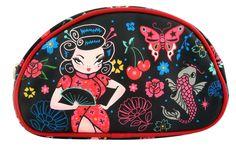 Fluff - Geisha Gal Makeup Bag, $15.00 (http://fluffshop.com/geisha-gal-makeup-bag/)