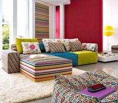 Um Blog Sobre Decoração,design,paisagismo E Arquitetura Wohnraum, Moderne  Wohnung, Farbgestaltung
