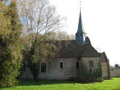 Clocher d'une église de France : 27241 - Feuguerolles