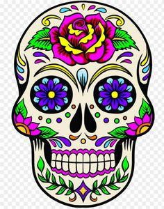 Sugar Skull Artwork, Sugar Skull Painting, Dibujos Sugar Skull, Crochet Skull Patterns, Sugar Scull, Skull Wallpaper, Acid Wallpaper, Mexican Pattern, Free Tattoo Designs