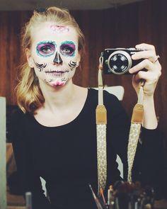 Dia de muertos make up 1