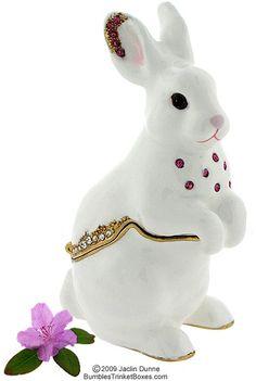 Trinket Box: White Rabbit