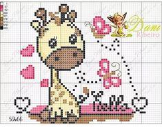 Fuse Bead Patterns, Modern Cross Stitch Patterns, Loom Patterns, Cute Cross Stitch, Cross Stitch Animals, Cross Stitch Charts, Graph Paper Art, Pixel Crochet, Dinosaur Pattern