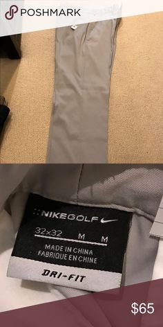 MENS NIKE GOLF DRI FIT PANTS - NEVER WORN two pairs available! lightweight, wicking fabric! 32 x 32 Nike Pants Chinos & Khakis