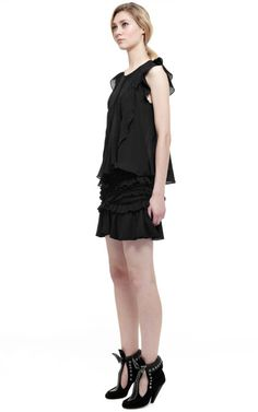 Black Hera Top by Isabel Marant for Preorder on Moda Operandi