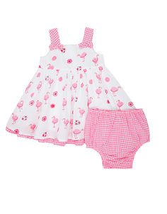 2fec529003676 Newborn Baby Lila Flamingo Dress Flamingo Dress, Bikinis, Swimwear, Baby  Girl Newborn,