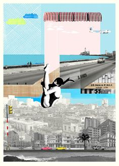 Fly By (Giclee and Silkscreen Signed Limited Edition of 40) by Bonnie and Clyde