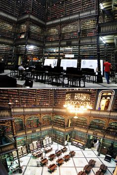 Amazing library in Brazil…
