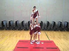 Some cute stunts but totally unbalanced and a little sloppy