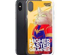 Captain Meowvel iPhone Case | Etsy $15.50