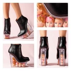 Jeffrey-Campbell-Black-Leather-Icy-Lucite-Wedge-With-Barbie-Doll-Head
