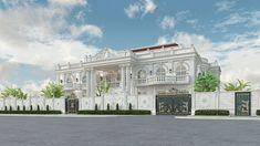 Interior Design Companies, Luxury Interior Design, Facade Design, Exterior Design, Classic House Design, 3d Visualization, Architectural Features, Kurta Designs, Portfolio Design