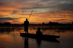 Mokoro trip out of Jao Camp, Okavango Delta, Botswana