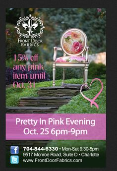 Pretty in Pink event!