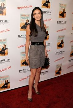 Quand les stars portent des vêtements issus des enseignes pas chères... Ici Demi Moore en H&M