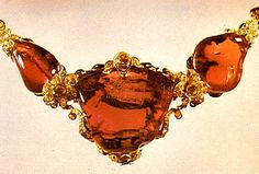 """The """"Timur Ruby"""" has had successive owners since it fell in the hands of Shah Abbas I of Persia. This famous piece of jewelry, now turned into a rich necklace, holds the names of several monarchs, from Jahangir, the Mughal Emperor of India, to Ahmad Shah. Meanwhile, the United Kingdom received as part of an Indian treasure. The """"Timur Ruby"""" weighs over 352.5 carats."""
