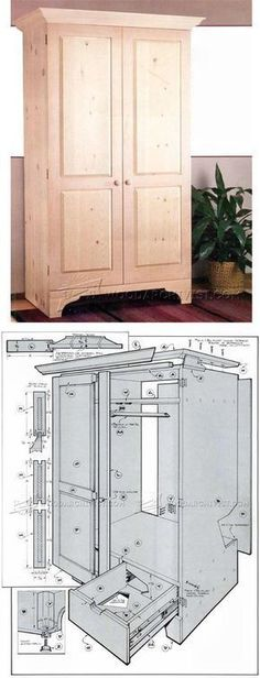 Build Armoire - Furniture Plans and Projects | WoodArchivist.com