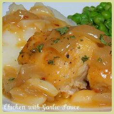 The Life & Loves of Grumpy's Honeybunch: Chicken with Garlic Sauce - 8 WW Points Plus