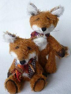 my Autumn foxes