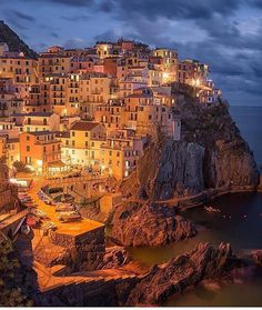 Evening glow in Cinque Terre  Photo: @sassychris1 via LUXURY LIFESTYLE MAGAZINE OFFICIAL INSTAGRAM - Luxury  Lifestyle  Culture  Travel  Tech  Gadgets  Jewelry  Cars  Gaming  Entertainment  Fitness