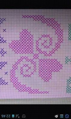 This Pin was discovered by Hac Cross Stitch Embroidery, Embroidery Patterns, Hand Embroidery, Plastic Canvas Stitches, Plastic Canvas Patterns, Stitch Drawing, Graph Paper Art, Funny Cross Stitch Patterns, Cross Stitch Landscape