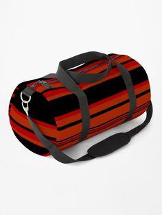 """Complex Stripes - Brimstone"" Duffle Bag by LAEC-Shop | Redbubble"