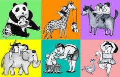 animals by graphicairlines, via Flickr