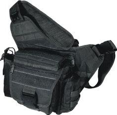 Amazon.com: UTG Multi-Functional Tactical Messenger Bag, Black: Sports & Outdoors