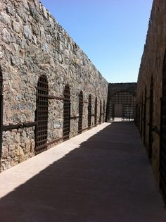 Yuma Az: Territorial Prison. Now a tourist  attraction . I have been there several times. On July 1, 1876, the first seven inmates entered the Territorial Prison at Yuma and were locked into the new cells they had built themselves.