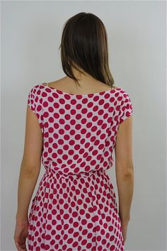 6dc642b6943 80s Red Polka dot Dress boho grunge polkadot mini sundress