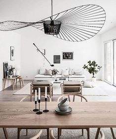Black Lamps, Pendant Lamp, New Homes, Dining Table, Cottage, Living Room, Outdoor Decor, Stockholm, Inspiration