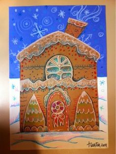 The Lost Sock : GingerBread House
