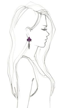 Crystal Nymph Earrings With Pave Spike by Mawi for Preorder on Moda Operandi