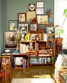 Looking for creative storage solutions? Here are 25 you can make yourself from recycled items.
