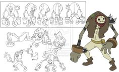 anime character model sheet - Google Search