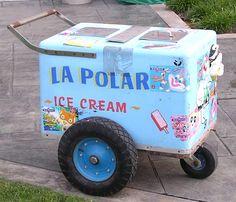 Ice cream cart; fiesta decor; fiesta party